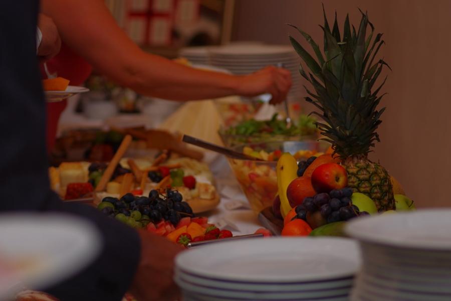 Svadobné menu - bufetové stoly